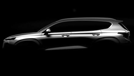 2019 Hyundai Santa Fe previewed, debuts at Geneva show