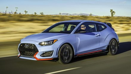 2019 Hyundai Veloster revealed, performance Veloster N added