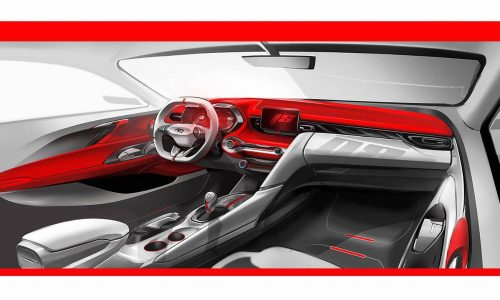 2019 Hyundai Veloster interior previewed with digital dash