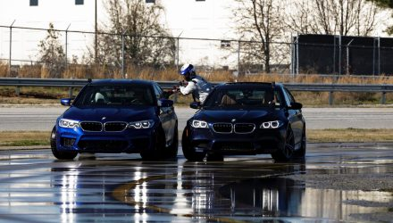 BMW M5 claims 2 Guinness World Records for long drift (video)