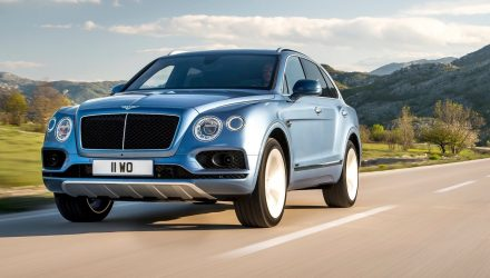 Bentley to unveil plug-in hybrid Bentayga at Geneva show
