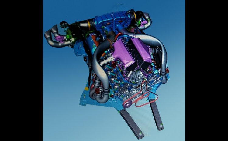 Chevrolet Corvette C8 'LT7' twin-turbo revealed via CAD image | PerformanceDrive