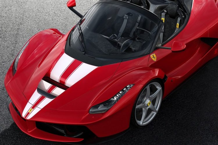 Ferrari Planning All Electric Supercar To Rival Tesla