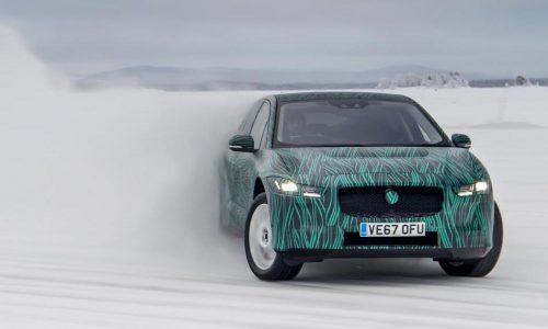 Jaguar I-Pace debut confirmed for March 1, completes winter tests (video)