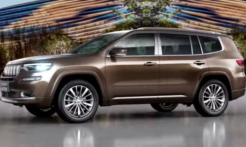 Jeep Grand Commander revealed as new 7-seat SUV for China