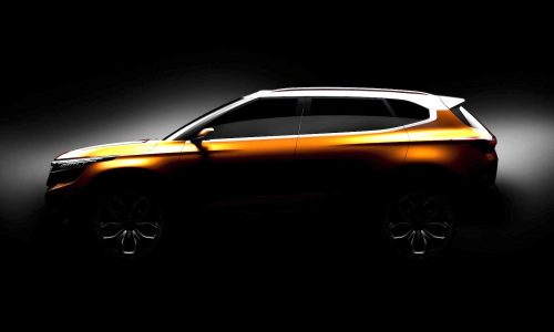 Kia SP Concept previews new compact SUV for India