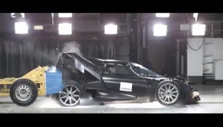 Koenigsegg celebrates 1 million followers with smashing video