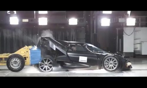 Koenigsegg celebrates 1 million followers with smashing video