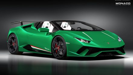 Lamborghini Huracan Performante 'Spyder' to debut at Geneva?