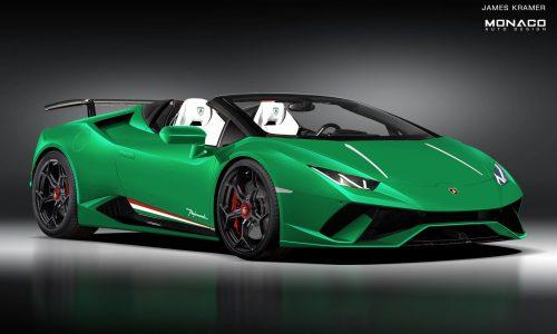 Lamborghini Huracan Performante 'Spyder' to debut at Geneva?