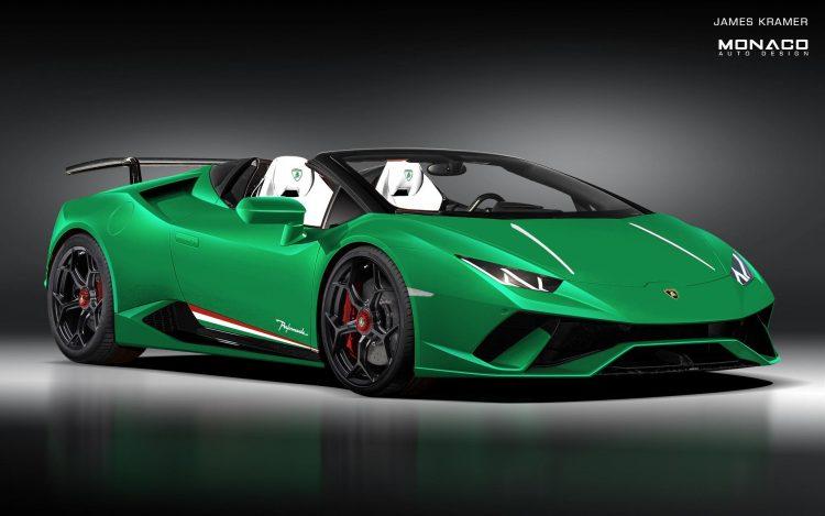 Lamborghini Huracan Performante Spyder To Debut At Geneva