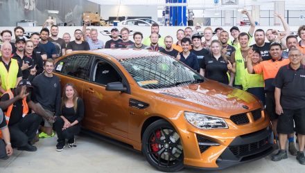 Last Commodore-based HSV rolls off production line; GTSR W1