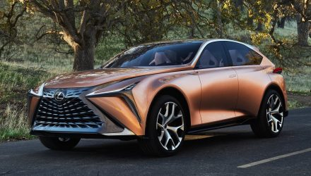 Lexus LF-1 Limitless concept hints at flagship crossover