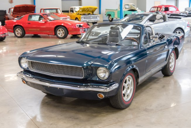 For Sale: Mazda MX-5 with classic Ford Mustang body