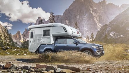 Mercedes-Benz shows off X-Class camper potential