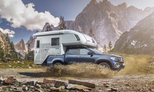 Mercedes-Benz shows off X-Class camper potential