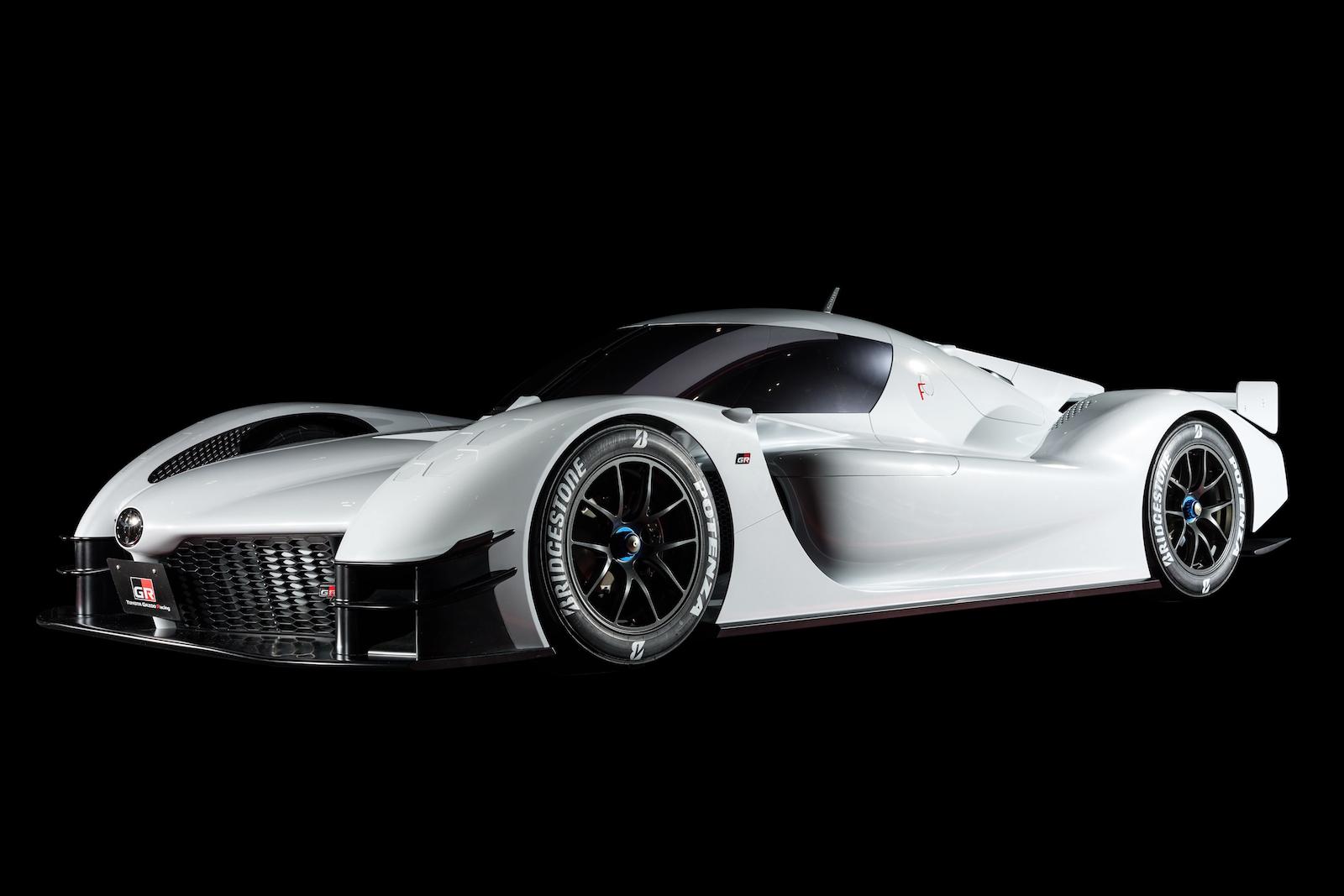 Toyota Gr Super Sport Concept Hints At Future Supercar