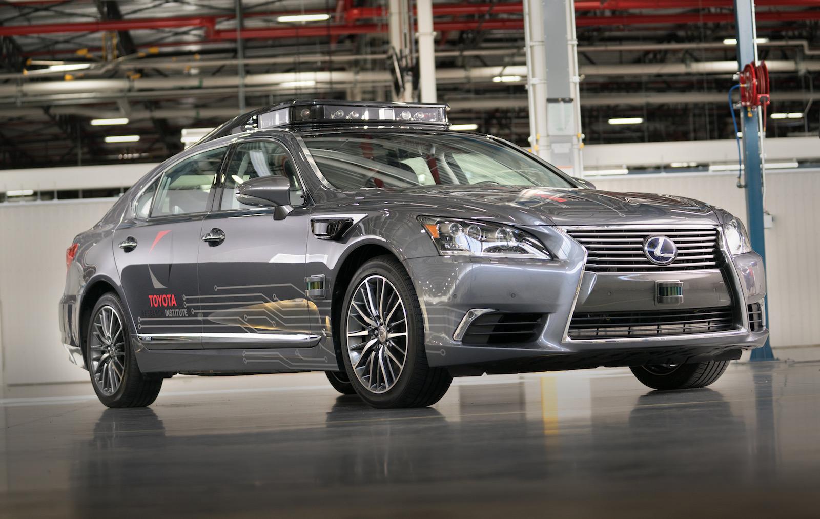 Toyota reveals next-gen autonomous prototype; Platform 3.0