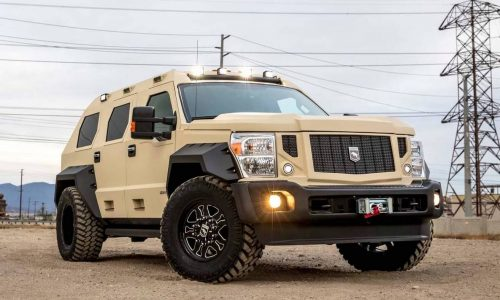Ford-based USSV Rhino GX Executive is one tough tank