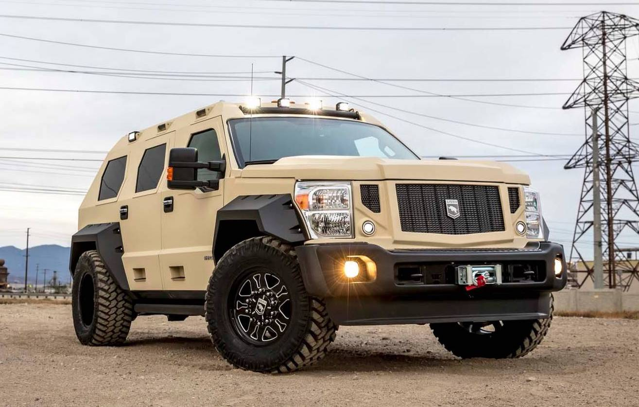 Ford Ranger Diesel >> Ford-based USSV Rhino GX Executive is one tough tank | PerformanceDrive