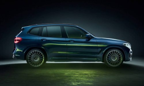 BMW X3 gets Alpina attention for first time; the Alpina XD3