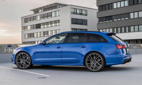 500kW-plus Audi RS 6 Avant Nogaro special edition announced