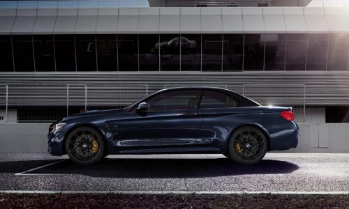 2018 BMW M4 Convertible Edition 30 Year announced
