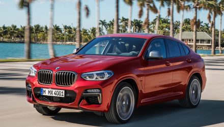 2018 BMW X4 revealed, M40d performance diesel confirmed
