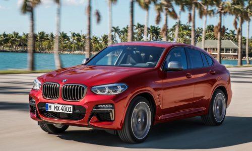 2018 BMW X4 revealed, M40d performance diesel confirmed
