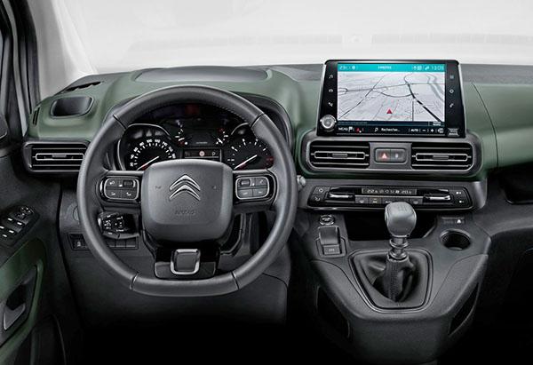 Commercial Van For Sale >> 2018 Citroen Berlingo shown in passenger van form ahead ...