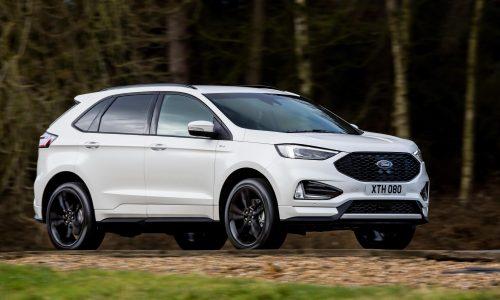 Euro-spec 2018 Ford Edge debuts new bi-turbo EcoBlue diesel