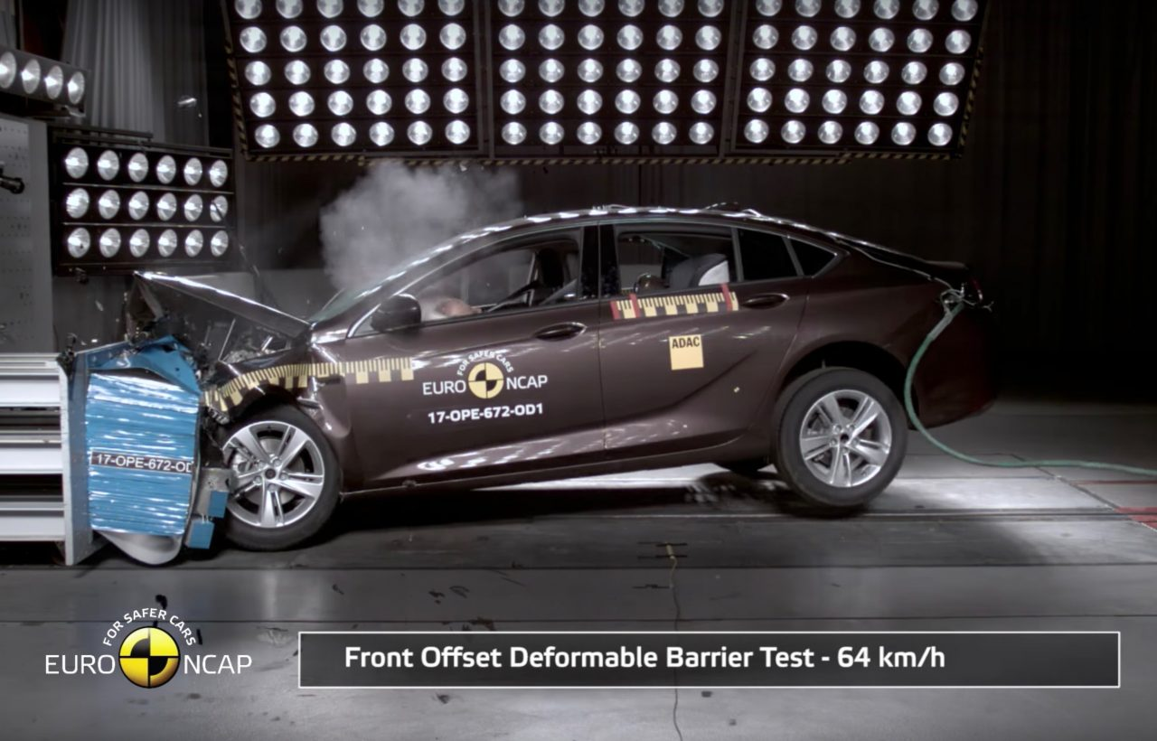 2018 Holden Commodore Scores 5 Star Ancap Safety Rating