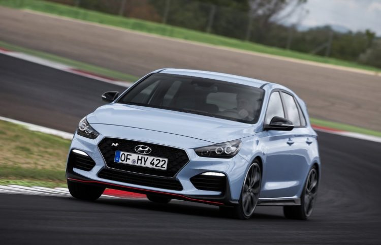 2018 hyundai i30 n on sale in april from $39,990 | performancedrive