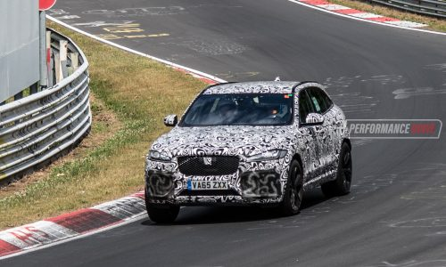 Jaguar F-Pace SVR V8 to debut at New York auto show?
