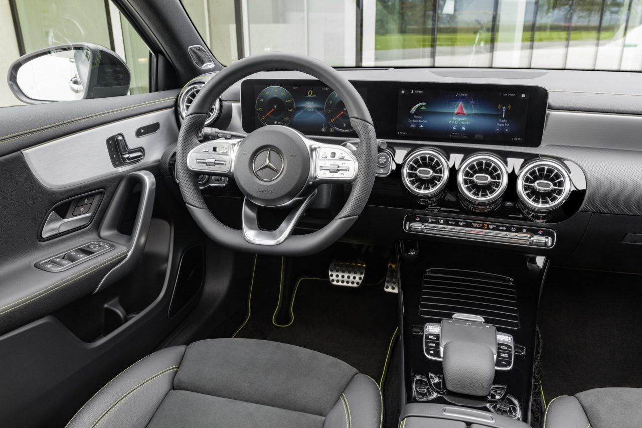 2018 Mercedes-Benz A-Class revealed with all-new design ...