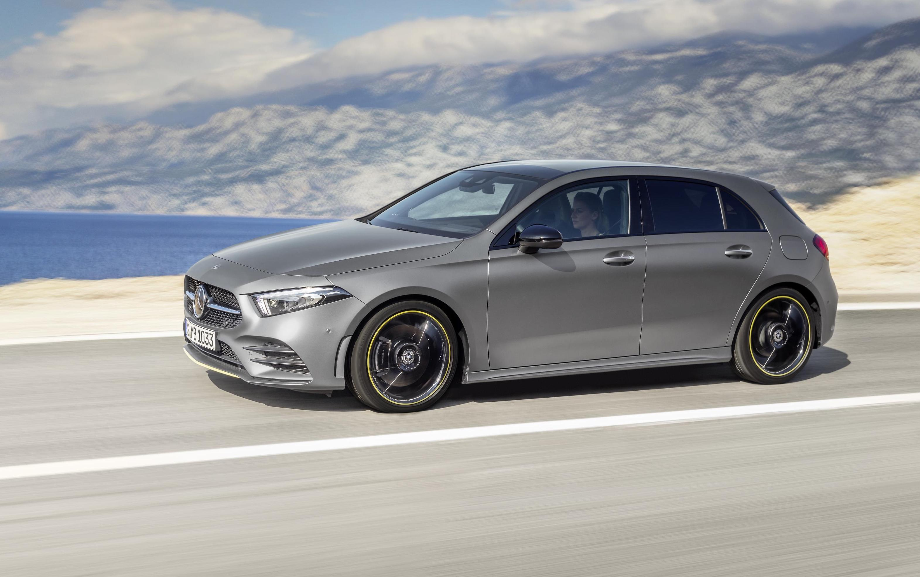 2018 mercedes benz a class revealed with all new design performancedrive