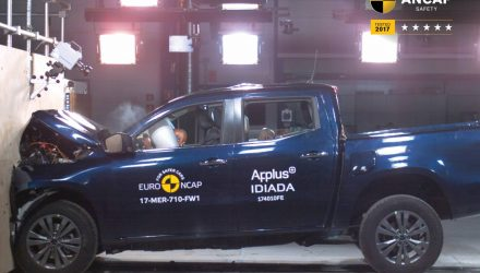 2018 Mercedes-Benz X-Class scores 5-star ANCAP safety rating