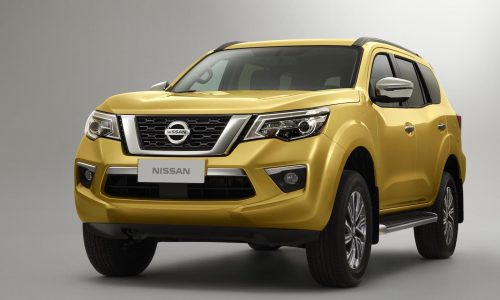 2018 Nissan Terra officially revealed, Navara-based SUV for Asia