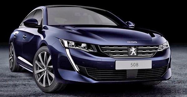 2018 Peugeot 508 Leaks Online Prior To Geneva Unveiling