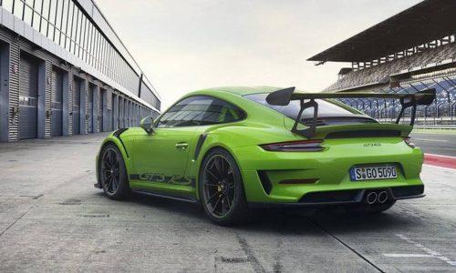 2018 Porsche 911 GT3 RS leaks online