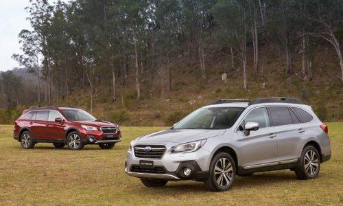 2018 Subaru Outback update now on sale in Australia