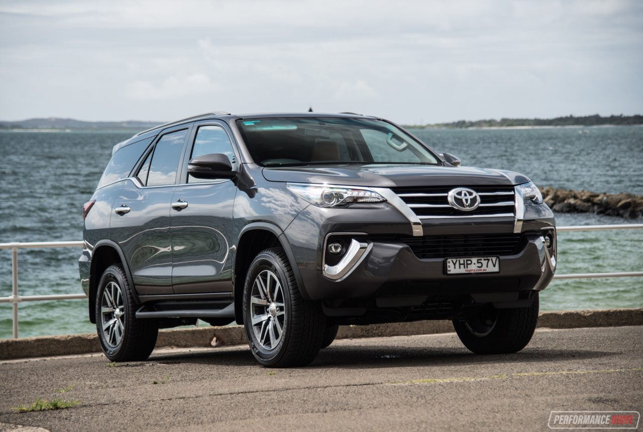 Toyota Fortuner Crusade Grey X