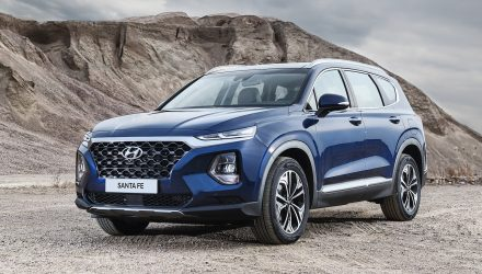 2019 Hyundai Santa Fe unveiled, gets new 8-spd auto