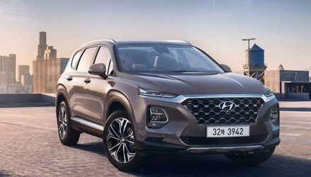 2019 Hyundai Santa Fe revealed, 2.0T for South Korean market