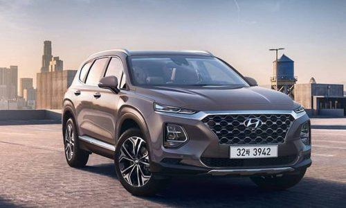 2019 Hyundai Santa Fe revealed, 2.0T for South Korean market