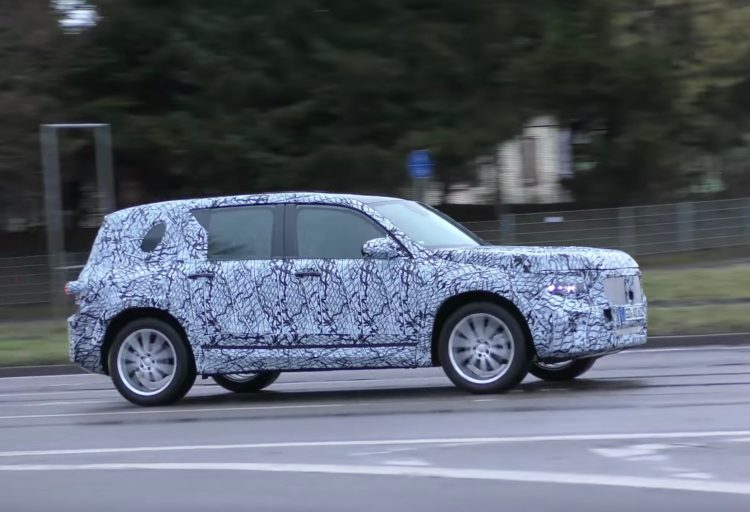 Mercedes Benz Has Been Spotted Test Driving A Prototype Version Of The  Upcoming GLB. The New Model Is Set To Be A Rugged SUV For The Small  Segment, ...