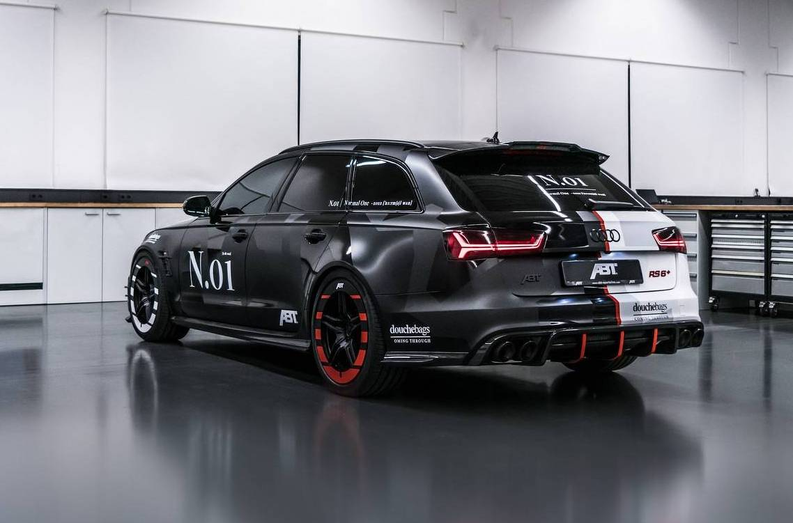 ABT Develops Bonkers Audi RS Phoenix For Jon Olsson - Audi phoenix