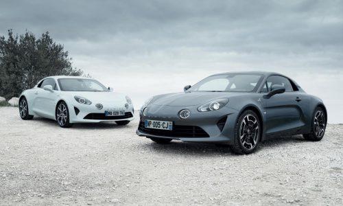Alpine A110 Pure & Legende variants announced, debut at Geneva