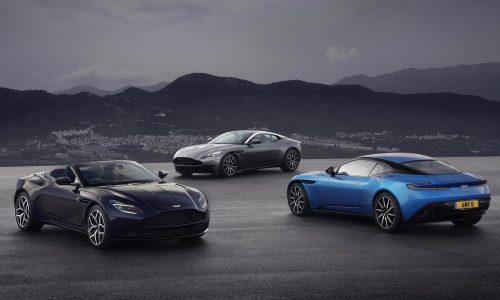 Aston Martin returns positive profit in 2017, record revenue