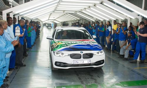 BMW 3 Series production ends at South Africa plant